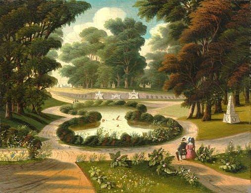 Thomas Chambers (1808-1869). Mount Auburn Cemetery. National Gallery of Art.