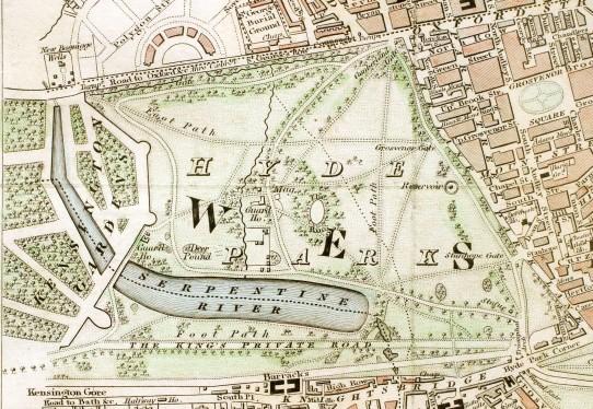 Hyde Park London c.1833