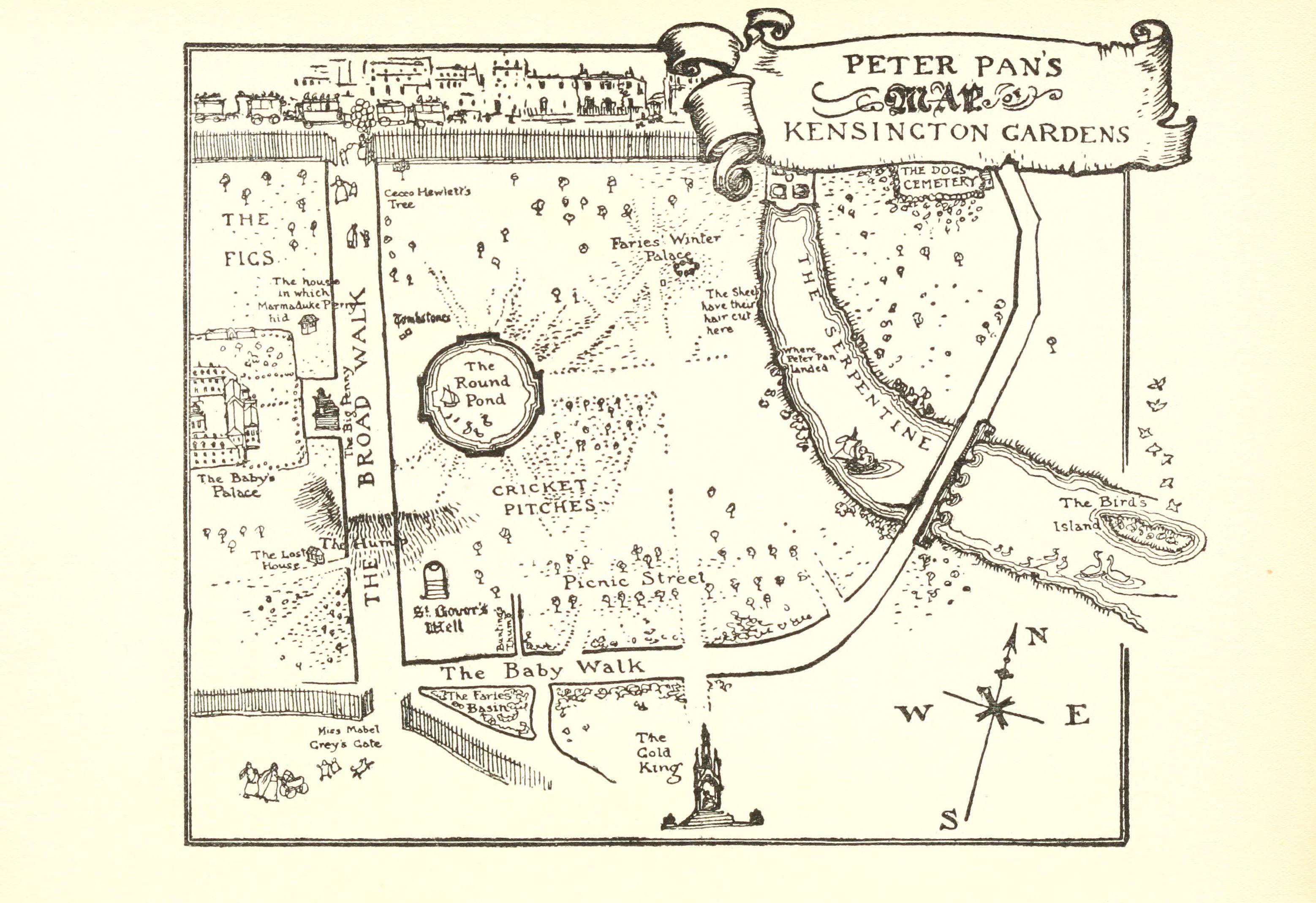 Kensington Gardens Landscape Notes
