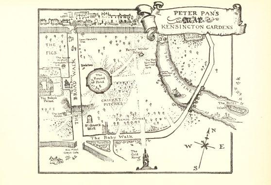 Peter Pan Map
