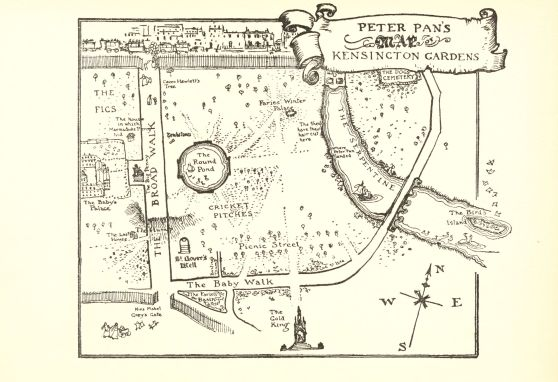 Peter Pan Map