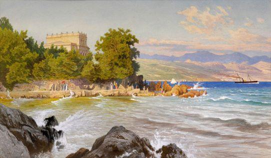 Theodor_Blätterbauer_Villa_Biedermann_in_Abbazia_1892