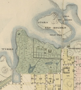 Helsinki_map_1837_by_Claes_Wilhelm_Gyldén