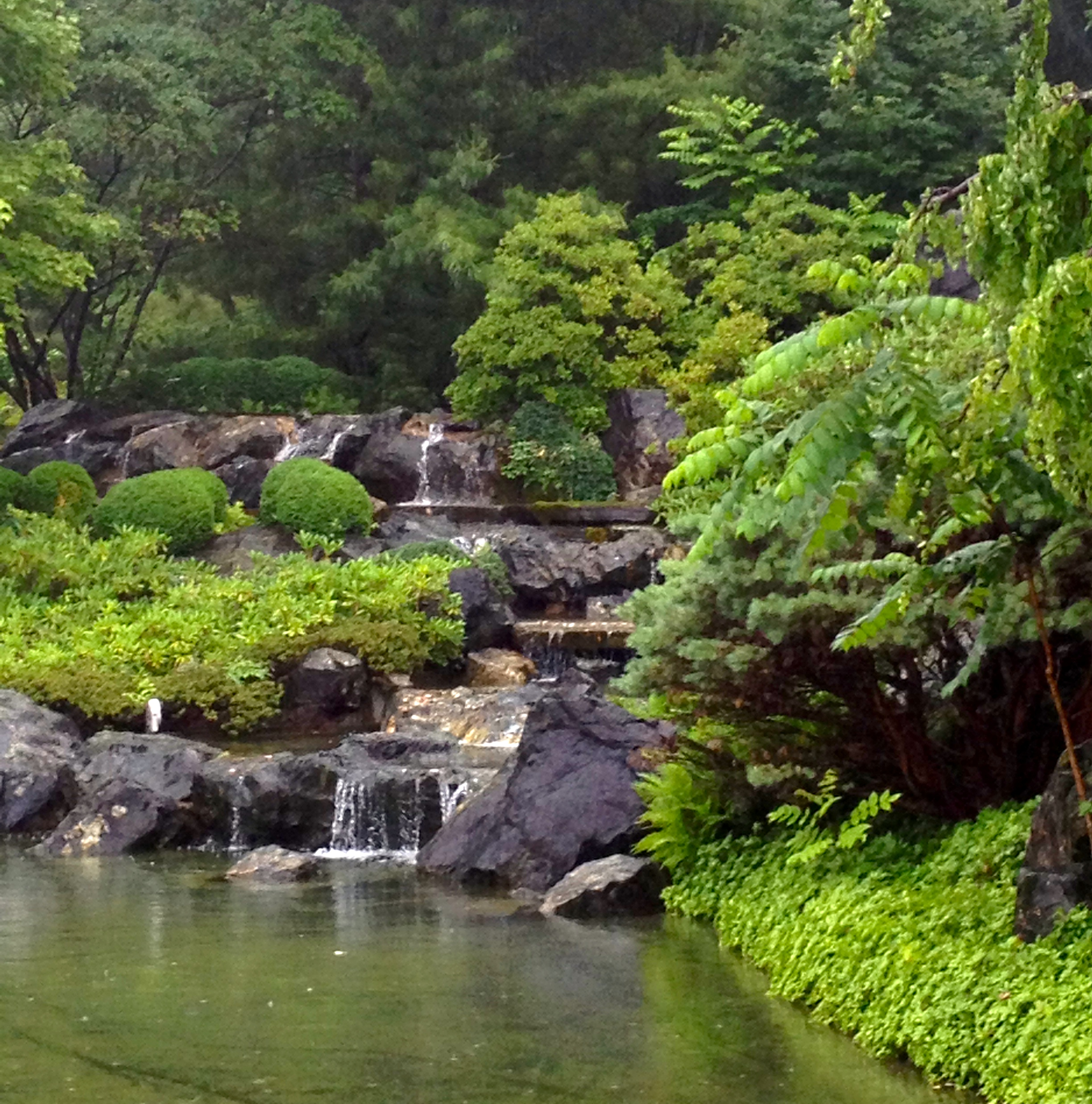 Japanese Inspired Garden In Grant Park: Gentle Acts Of Nature, Time And Man: Three Japanese