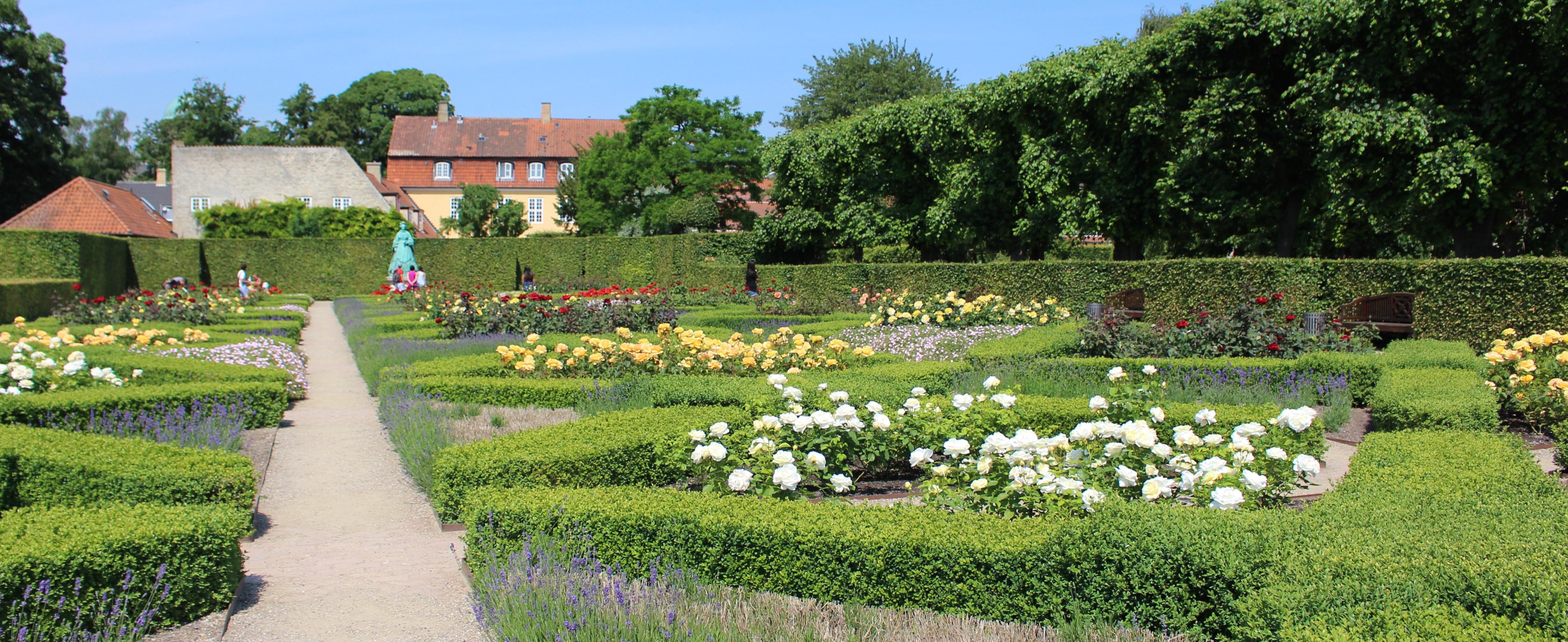 The Kings Garden at Rosenborg Castle Copenhagen Landscape