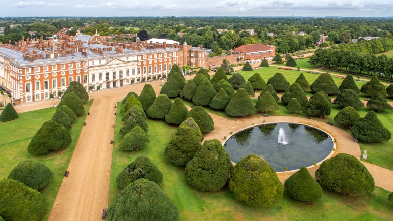 Hampton Court. Credit Historic Royal Palaces.