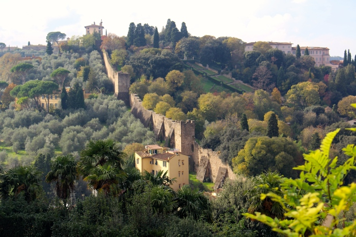 The Florence Greenway The Bardini And Boboli Gardens Landscape
